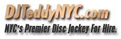 Welcome to DJTEDDYNYC.com. Logo